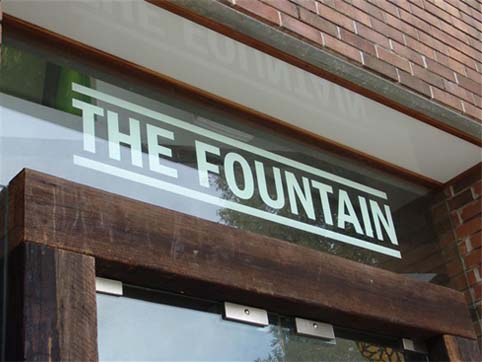 Entrance to Fountain Street GP